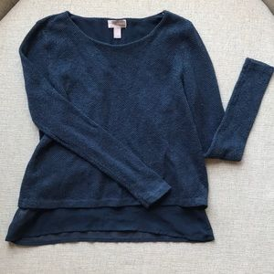 Forever 21 Navy Blue Sweater S